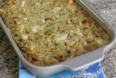 Chicken and Dressing Casserole Recipe: Chicken and Dressing Casserole