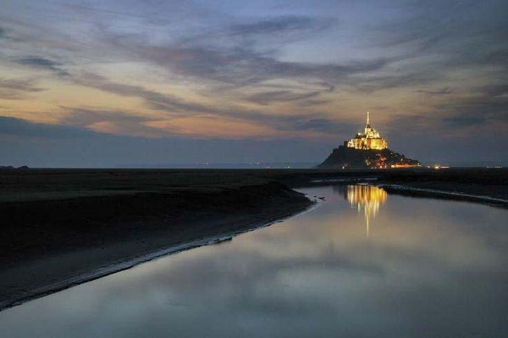 Baie du Mont Saint-Michel (35) - © FICHE Alain