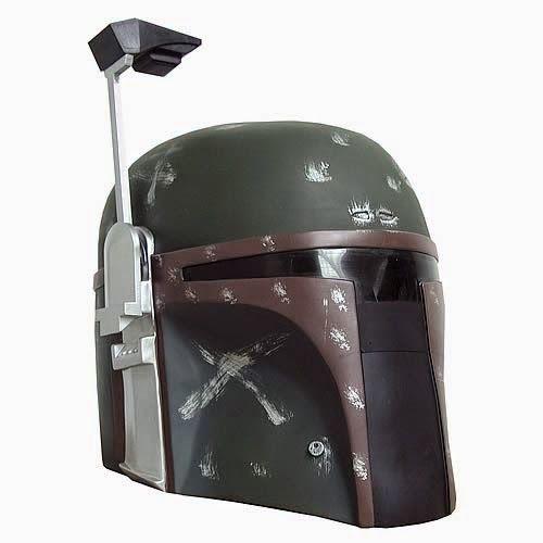 BLOG DOS BRINQUEDOS: Capacete de Star Wars Boba Fett Collector