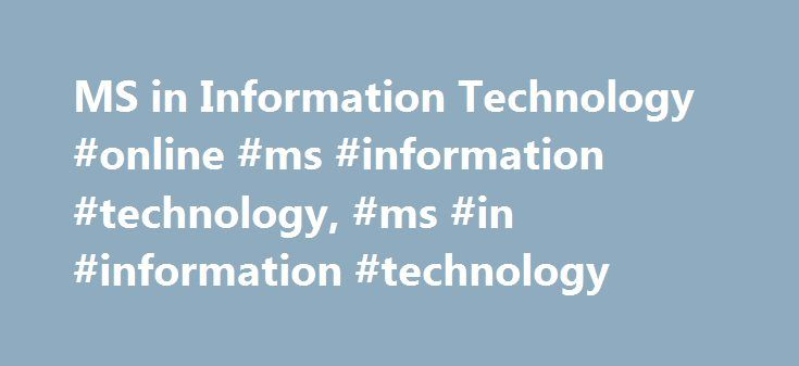 """MS in Information Technology #online #ms #information #technology, #ms #in #information #technology http://idaho.remmont.com/ms-in-information-technology-online-ms-information-technology-ms-in-information-technology/  # """"A lot of the things I learned at Walden, I've applied to my work. Even my manager has told me I've become a better leader."""" Anthony Price 