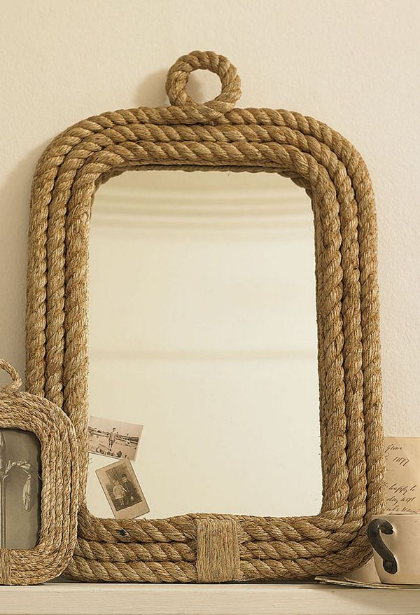 Beautiful Custom Rope Mirrors