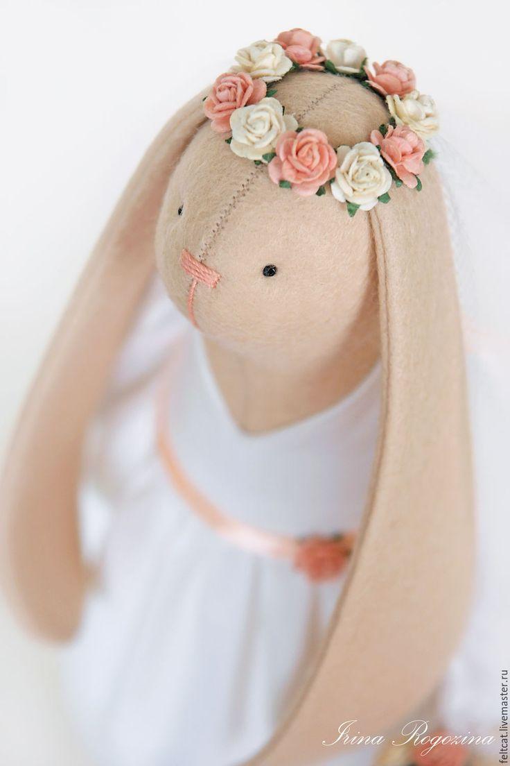 Купить Зайцы Тильда свадебные - тильда заяц, заяц тильда, зайцы свадебные, тильда зайцы