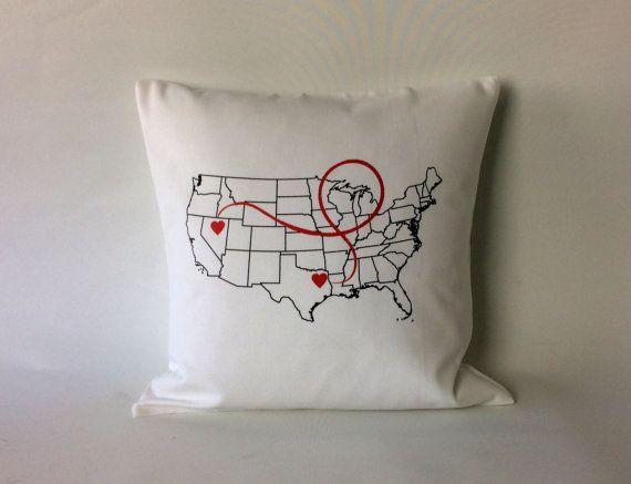 dating long distance pillow website