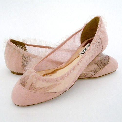 blush: Ballet Flat, Pink Wedding, Wedding Shoes, Wedding Ideas, Weddings, Pink Flats, Bride, Badgley Mischka, Flat Bridal Shoes