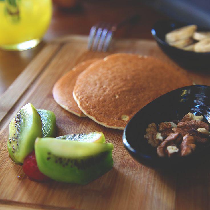 There's hardship in everything except eating pancakes. #Pancake #Breakfast #KevCafe #Kadikoy