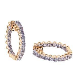 2.00 Karat Diamant Ohrringe - 585er Gelbgold - http://www.juwelierhausabt.de/products/de/Diamant-Ohrringe/Diamant-Ohrringe/200-Karat-Diamant-Ohrringe-585er-Gelbgold.html