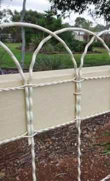 44 best Woven Wire (Ornamental Loop) Fences & Gates images on ...