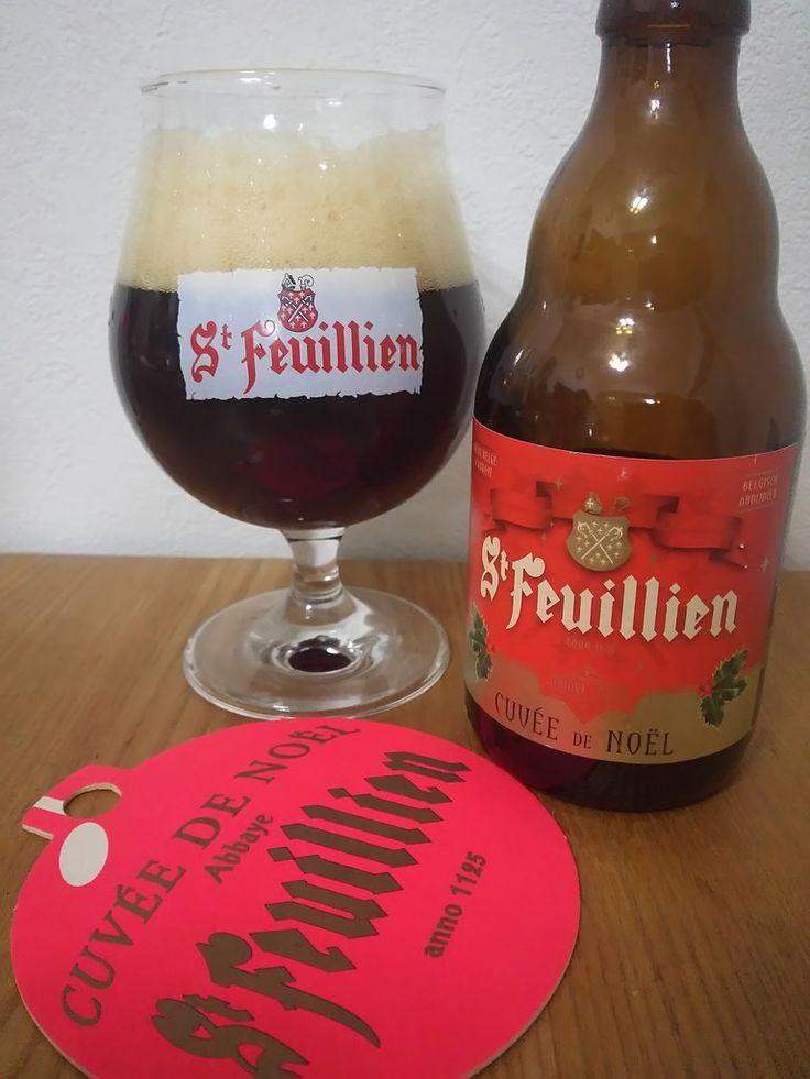 St Feuillien Cuvée de Noël St Feuillien Cuvée de Noël e33cl Alc.9.0%Vol. Brasserie St-Feuillien 20 rue d'Houdeng B-7070 Le Rœulx www.st-feuillien.com