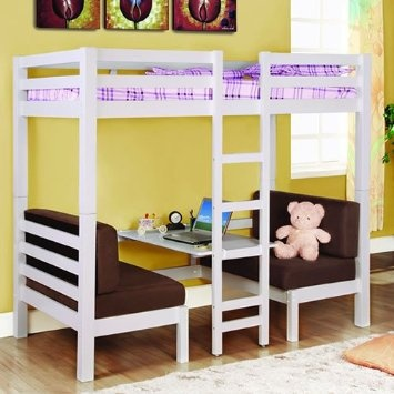 for the kids- convertible loft bed: home & kitchen