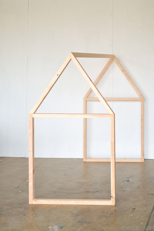 DIY House Framed IKEA Crib  Vintage Revivals-2