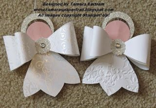 Paper Angels with tutorial---maybe I can figure out how to make these without the die...