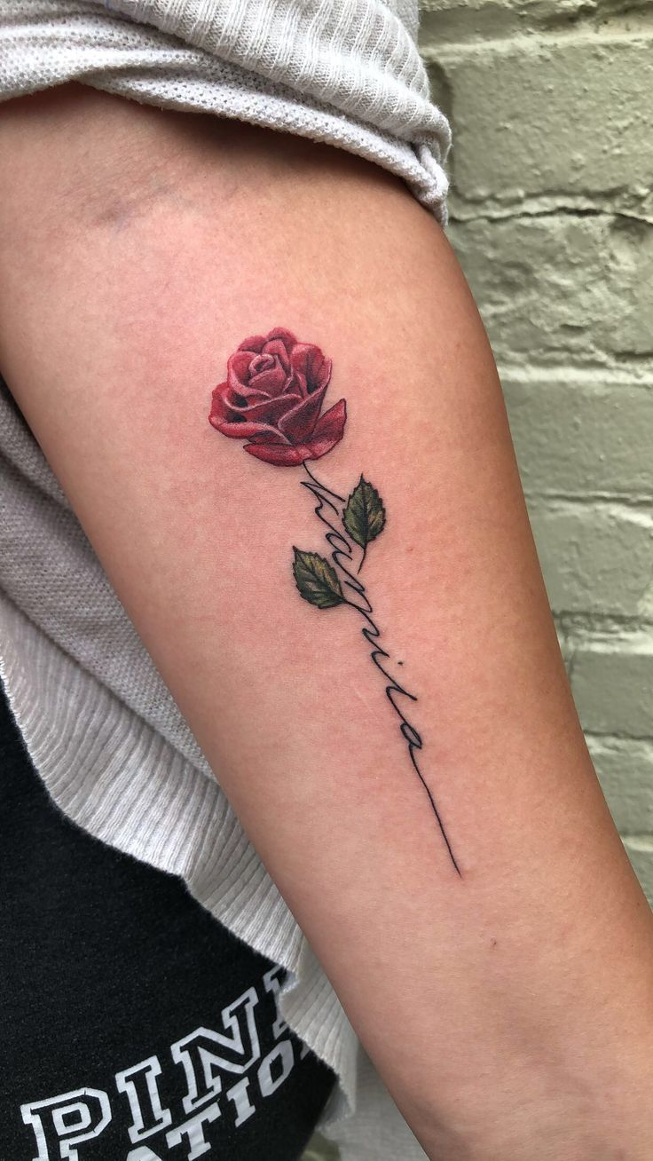First tat for my dtr- Kamila Rose🌹 – Tattoo