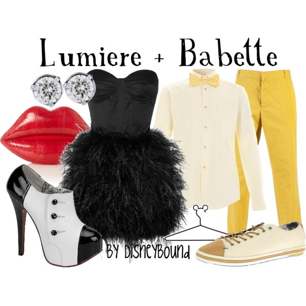 Lumiere + Babette- Beauty & the Beast, created by lalakay.polyvore.com