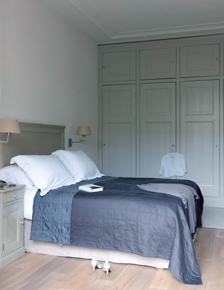 Home - Bedrooms - Barbara Groen - Country (love the storage cabinetry!)