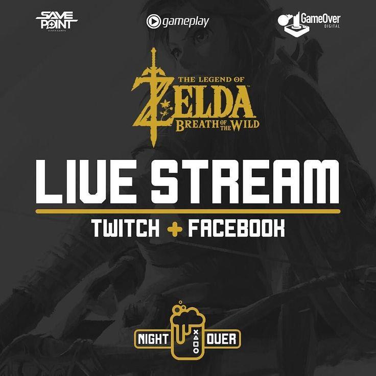 Esta noche estaremos en @nightoverrd a partir de las 7 con un livestream de #HorizonZeroDawn y #ZeldaBreathoftheWild dos de los juegos de aventura más esperados de esta generación! #Livestream #Zelda #Nintendo #PS4
