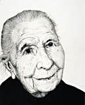 Arne Bendik Sjur. Smiling Woman (white), 2005.