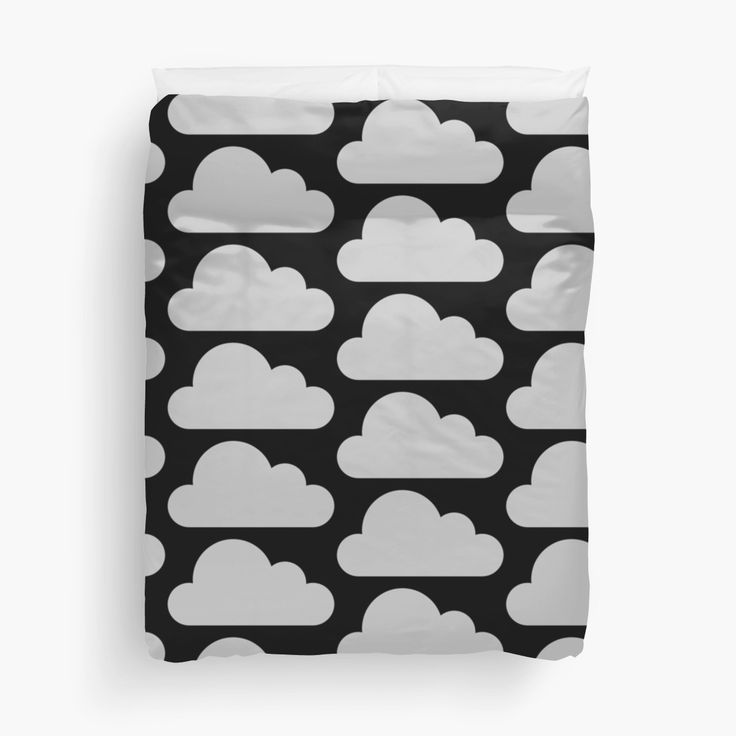 Something awesome and different, you will love the look of this cloud duvet cover.