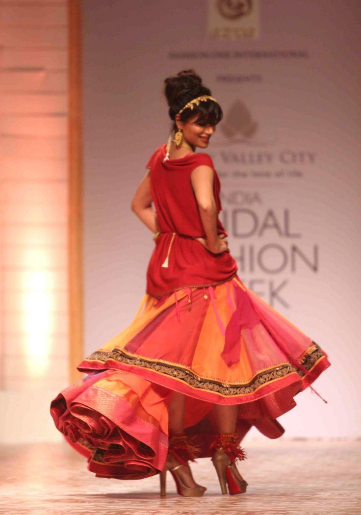 India Bridal Fashion Week 2013: Chitrangada Singh for Azva