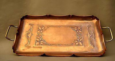 WMF Copper Tray Art Nouveau Jugendstil Ostrich Mark | eBay