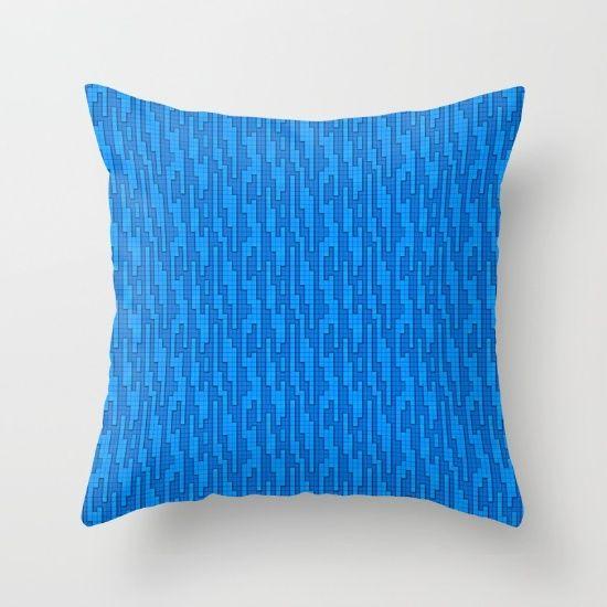 #design #interior #homedecor #art #artist #modern #culture #iceland #norway #prdart #art #trowpillow #cushion #grid #blue #squares #tech #designer #cool #coolhunter #modernart #scandinaviandesign