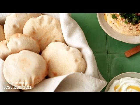 ▶ Homemade Pocket Pitas - From the Test Kitchen - YouTube