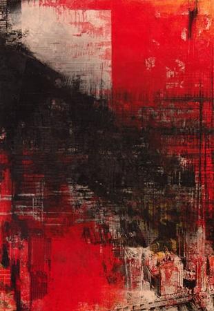 Robert Boynes,    'Dark Rain/After the Mardi Gras' 1996,    acrylic on canvas,  236 x 163.5 cm