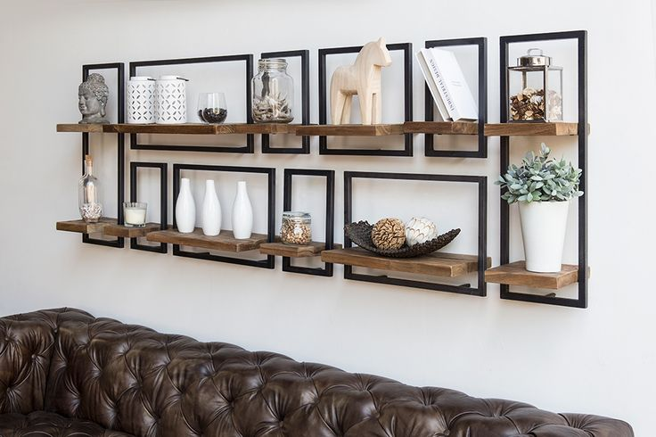 Long, wide, short... SHELFMATE by d-Bodhi fit's every wall! Make your own composition with the 5 available modules.