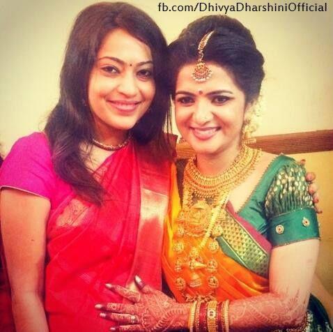 Ramya at Divyadarshini Marriage