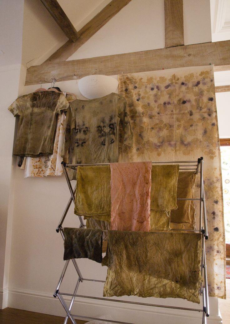 slow textile tines naturales