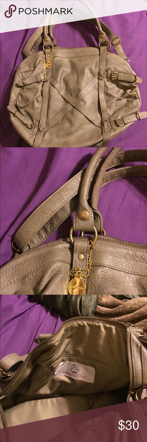 Never carried LARGE big Buddha bag Super large never carried olive green bag from big Buddha, this bag has been collecting dust in my closet. It's an amazingly beautiful bag and deserves to be carried! Big Buddha Bags Hobos