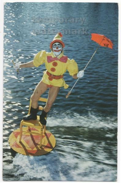 Cypress Gardens: Extreme Sports, Image Maniac, Historical Stuff, Circus Ephemera, Historical Florida, Middle Age, Cypress Gardens, Creepy Boards, Maniac 2015