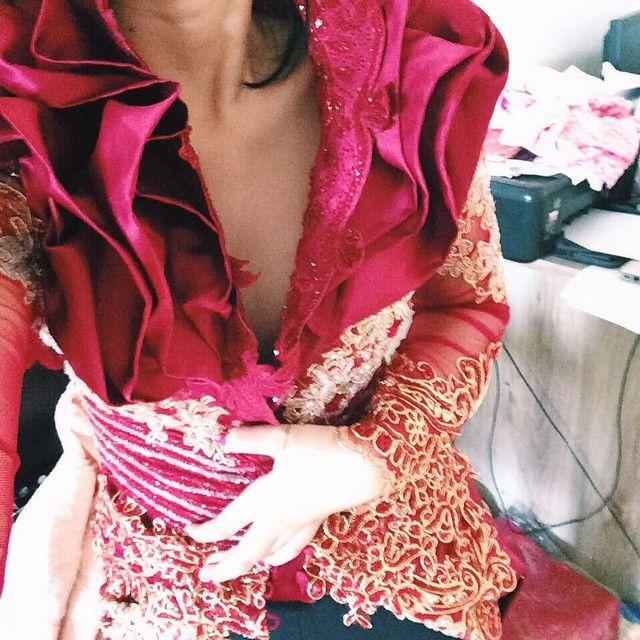 Good morning Fitting terakhir buat mba Reta's wedding hari sabtu