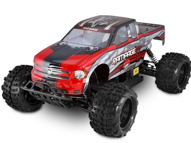 Enjoy the awesome power of the REDCAT RACING GAS RC TRUCKS RED RAMPAGE XT 1/5 SCALE. Always Free Shipping!