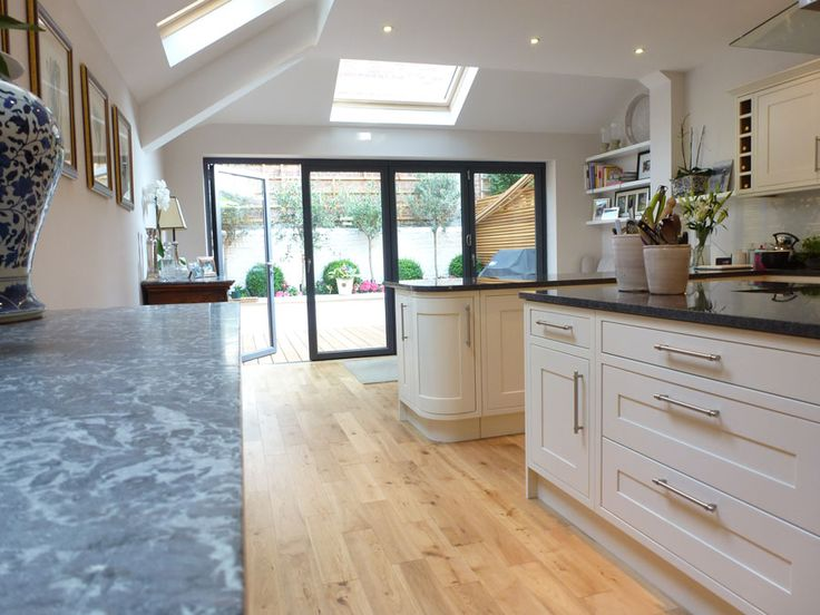 sloping ceiling and open doors - bring on the summer