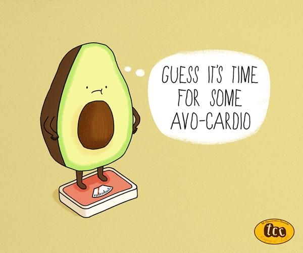 Fun Food Facts Presented with Adorable Cartoons and Puns
