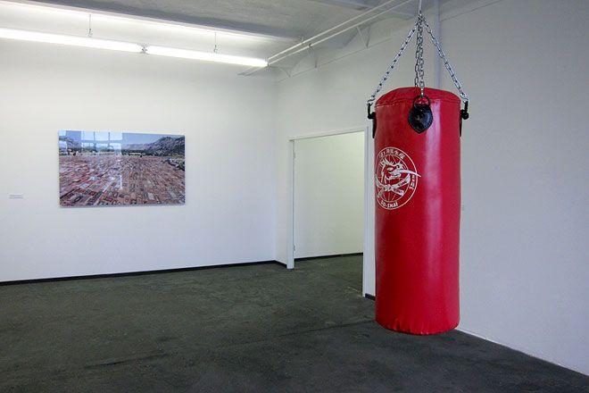 Halil Altındere, Boxing Bag, 2012 /  © Photo: Haupt & Binder