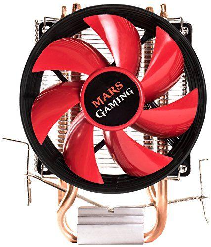 Mars Gaming MCPU117- Disipador gaming para ordenador (ventilador 90mm, tecnología PWM, soporte AM4, TDP de hasta 120W, perfil ultradelgado) color rojo y negro #Mars #Gaming #MCPU #Disipador #gaming #para #ordenador #(ventilador #tecnología #PWM, #soporte #hasta #perfil #ultradelgado) #color #rojo #negro