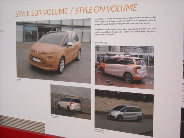 Design : aux origines du Citroën C4 Picasso - Blog Automobile