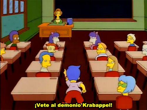 Vete al demonio Krabapel!
