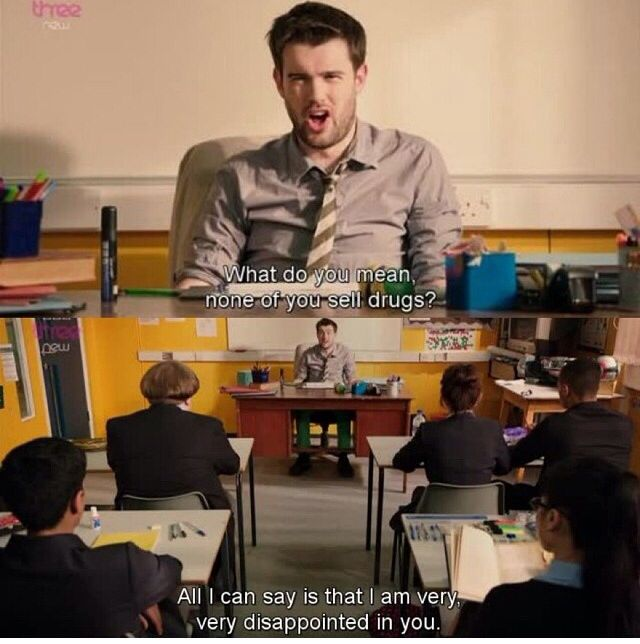 Bad Education! Jack Whitehall is sooo funny!!