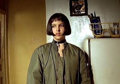 Natalie Portman's character in The Professional loved her bomber jacket almost as much as her choker