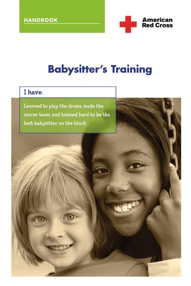 American red cross babysitters training handbook resource for american red cross babysitters training handbook resource for girl scout cadette badge girl scout cadette badges pinterest american red cross xflitez Images