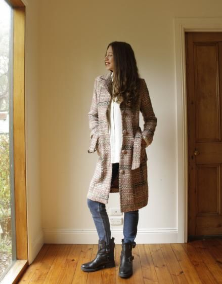 Round She Goes - Market Place - Preloved Pink Alannah Hill coat