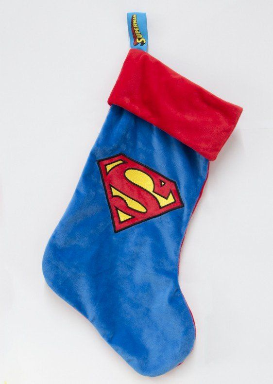 DC Comics Superman Logo Christmas Stocking                                                                                                                                                                                 More