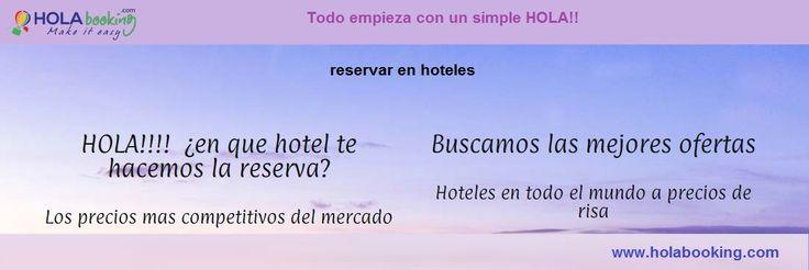 Hola!! Puedes encontrar y reservar hoteles baratos y descuentos en su #reservarenhoteles. Compara ofertas de hoteles y lee comentarios imparciales sobre ellos. HOLAbooking ofrece una amplia gama de servicios e instalaciones para los huéspedes.