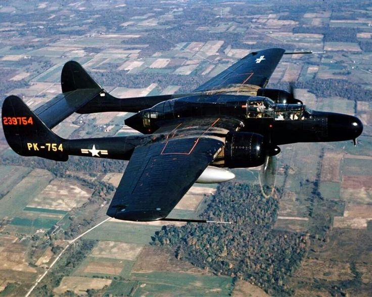 P-61 Black Widow - I wish I could have seen one of these in my lifetime.