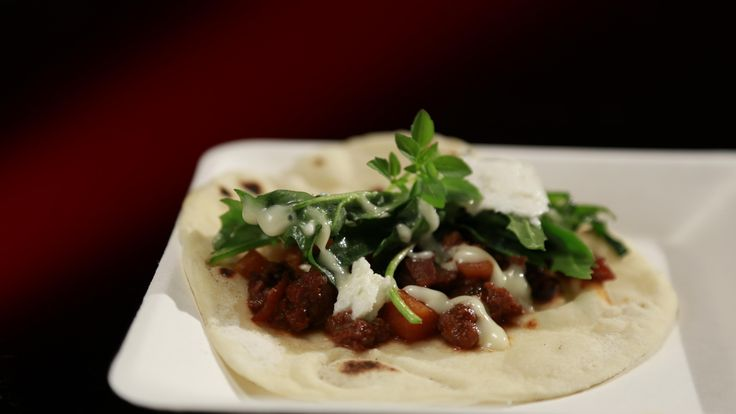 Paul and Blair's Veal Piadinas with Buffalo Mozzarella: http://gustotv.com/recipes/lunch/veal-piadinas-buffalo-mozzarella/