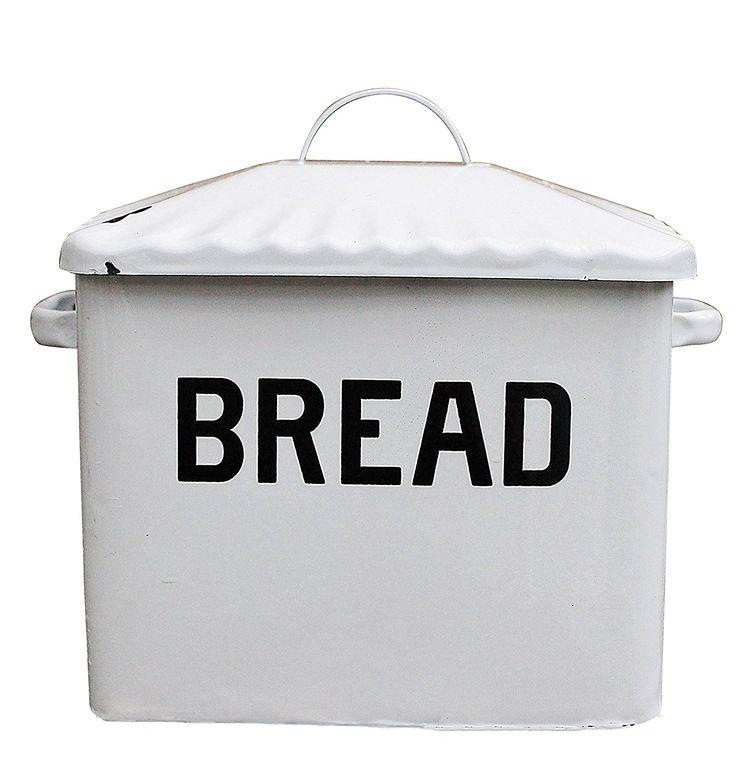 Farmhouse Finds on Amazon | Metal Bread Box