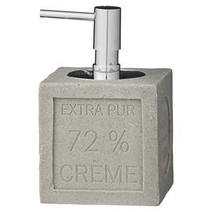 Distributeur de savon liquide carr� ciment Helen Lene Bjerre