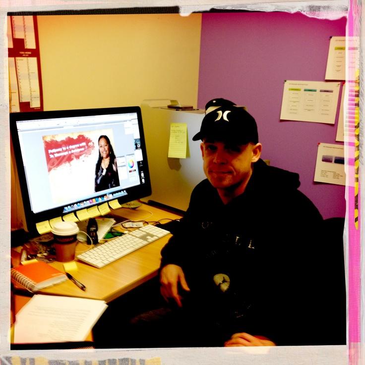 James. Graphic design graduate. Now working at Te Wananga o Aotearoa.